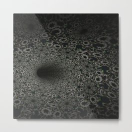 Dark Abyss Tubular Mandalas 3 Metal Print