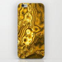 saturn iPhone & iPod Skins featuring Saturn by Brian Raggatt