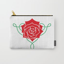 Fate Rose Carry-All Pouch