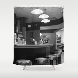 The Finer Diner Shower Curtain