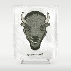 Great American West Shower Curtain
