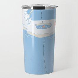 Gone Ice Fishin' Travel Mug