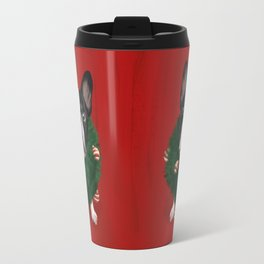 Christmas Bulldog Travel Mug