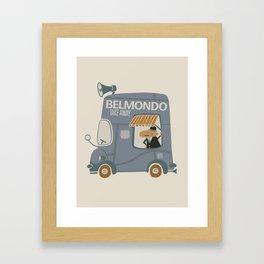 Take away Framed Art Print