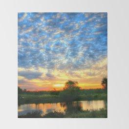 November East Texas Sunrise Throw Blanket