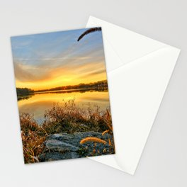 December Reflections 2 Stationery Cards