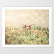 Let's Meet in the Middle Art Print