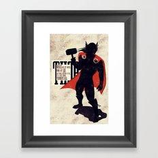 Thor: Call of Thunder Framed Art Print