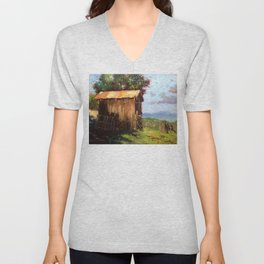 A Stable Home Unisex V-Neck