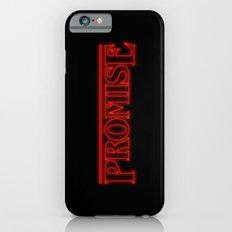 Stranger Things Promise Slim Case iPhone 6s