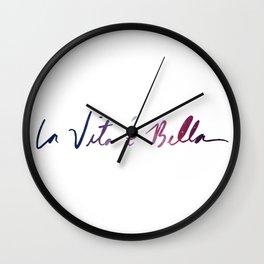 La vita è bella - Life Is Beautiful Wall Clock