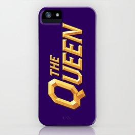 The Queen Full Logo iPhone Case