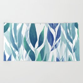 Leafage #02 Beach Towel