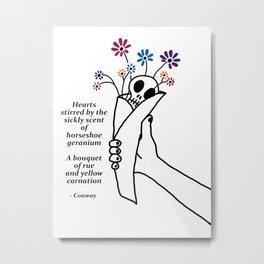Love Note (Prints) Metal Print