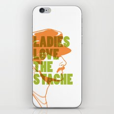 Ladies Love the Mustache iPhone & iPod Skin