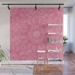 Floral Mandala Wall Mural