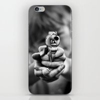 band iPhone & iPod Skins featuring Bang! by Mark Nelson
