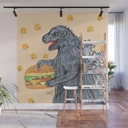 Zilla Burger Wall Mural