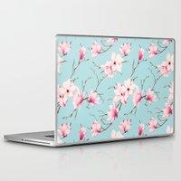 magnolia Laptop & iPad Skins featuring Magnolia by EclipseLio