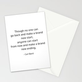 Starting – Carl Bard Stationery Cards