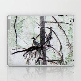 Watchtower Herons.... Laptop & iPad Skin