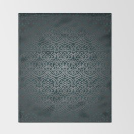 Jasmine Celtic Knotwork Throw Blanket