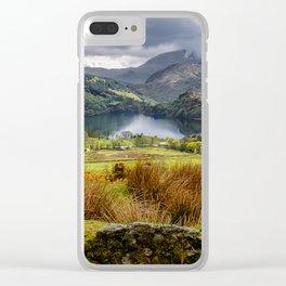 Nant Gwynant Snowdonia Clear iPhone Case