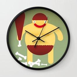 Primitive. Wall Clock
