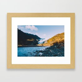 Exit Glacier - Kenai Fjords National Park Framed Art Print