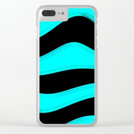Hot Wavy C Clear iPhone Case
