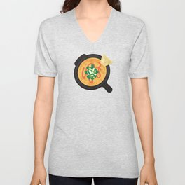 Q is for Queso Unisex V-Neck