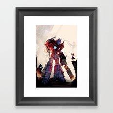 Tyranny in her hands  Framed Art Print