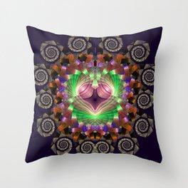 Spirals and stunning patterns Throw Pillow