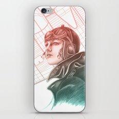 Amelia Earhart - Colourized iPhone Skin
