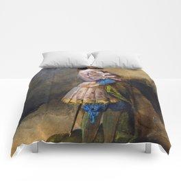 """Eugène Delacroix """"Gentleman of the time of François Ist"""" Comforters"""