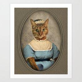 "Jane ""Paw""sten Art Print"
