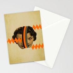 headache girl Stationery Cards