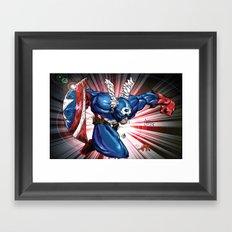 Captain.... Framed Art Print