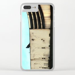 Five and Dime -- Pigeon Clear iPhone Case