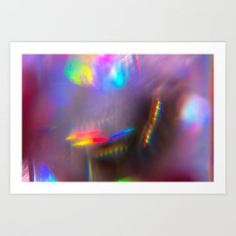 Prism Rainbows 1 Art Print