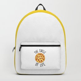 The Circle Of Life Funny Quote Backpack