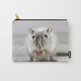 Gerbil eating Carry-All Pouch