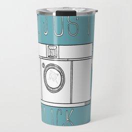 We Just Click Travel Mug