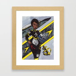 The Youngest Ace Framed Art Print