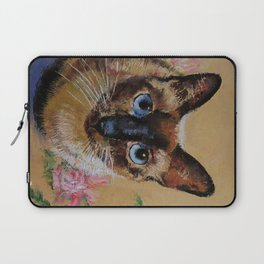 Siamese Cat Laptop Sleeve