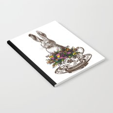 Rabbit in a Teacup Notebook