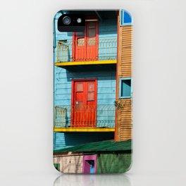 El Caminito iPhone Case