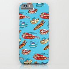 Drawn Spaceships Slim Case iPhone 6s