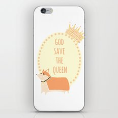 God Save the Queen iPhone & iPod Skin