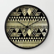 Ethnic Chic Wall Clock